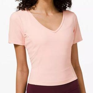 Lululemon Nulu Cropped Slim Short Sleeve Shirt